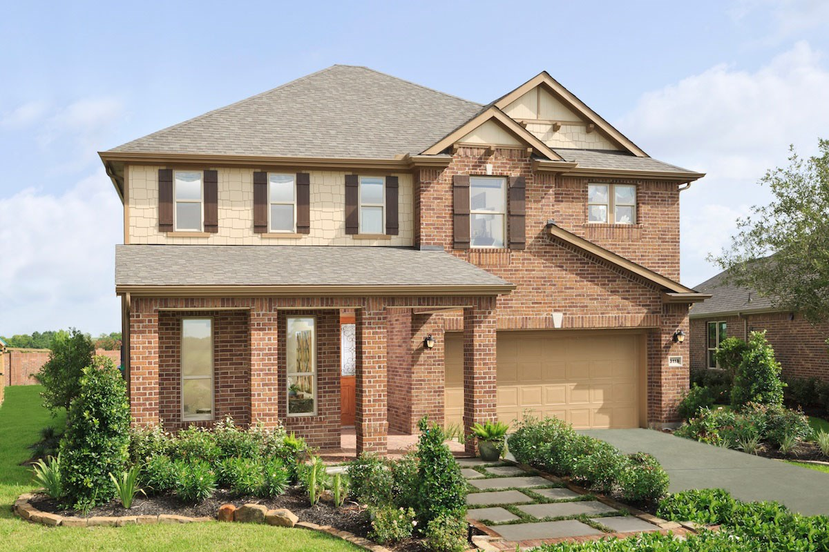 New Homes in Pearland, TX - Shadow Grove Preserve Plan 2478