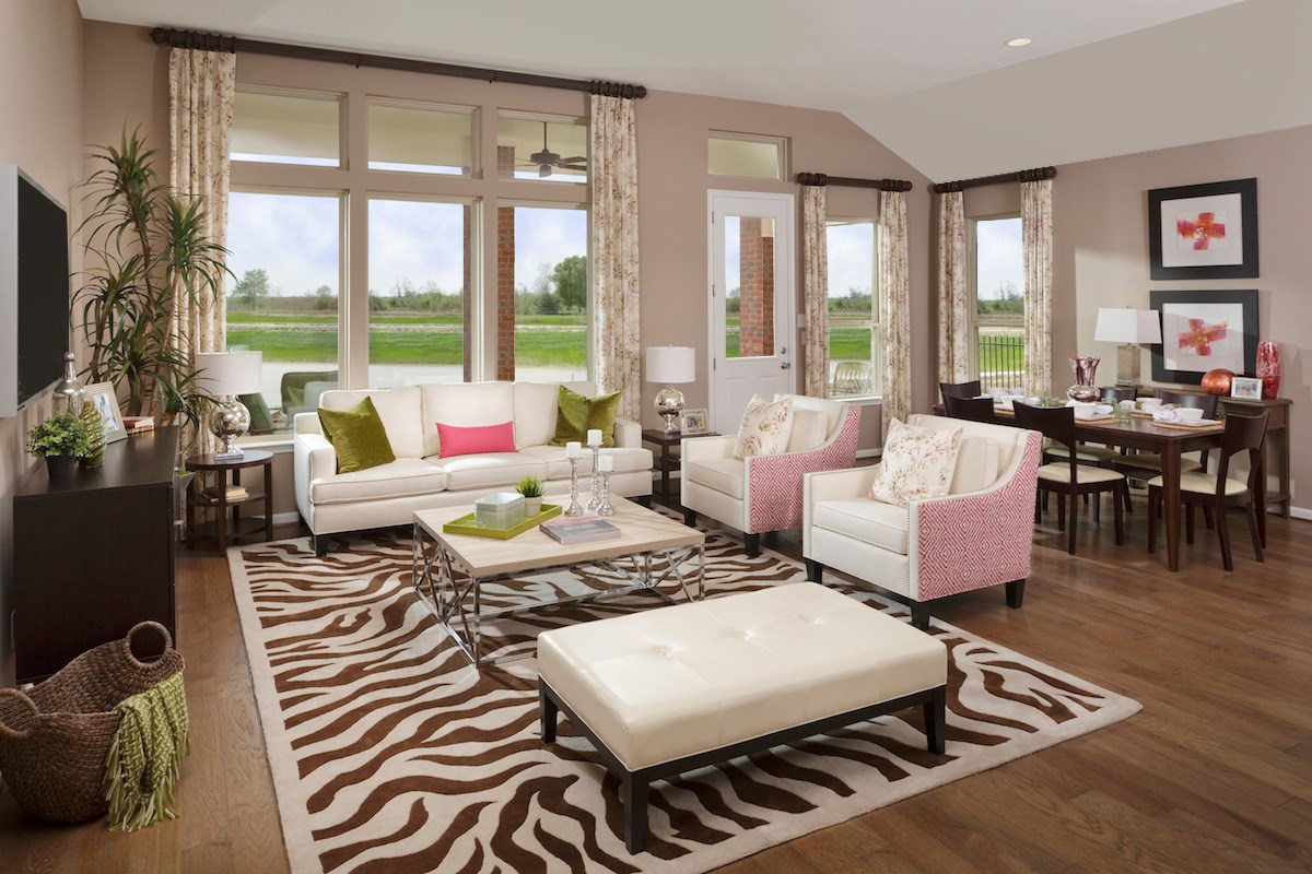 New Homes in Kingwood, TX - Rivergrove Plan 2398 Great Room