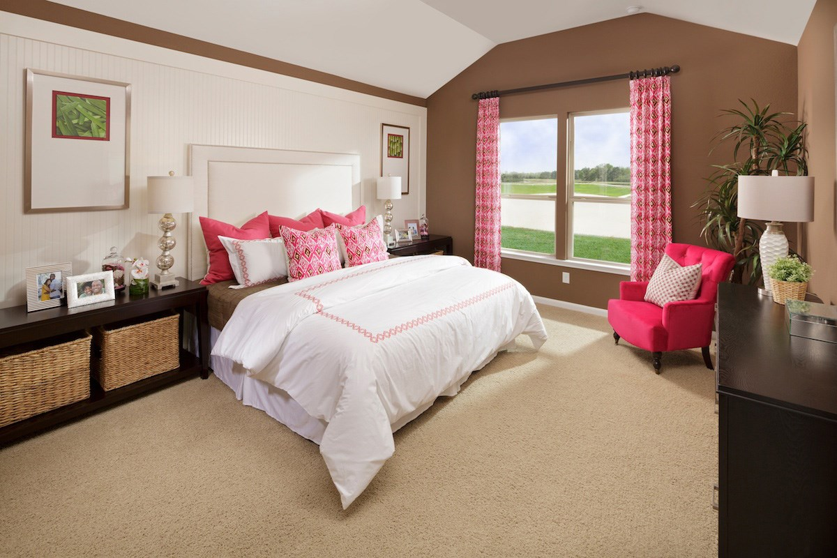 New Homes in Magnolia, TX - Cimarron Creek Preserve Plan 2398 Master Bedroom