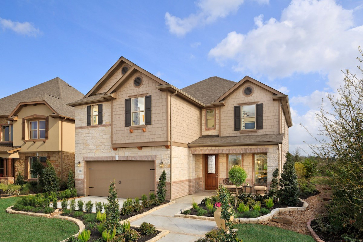 New Homes in Magnolia, TX - Cimarron Creek Preserve Plan 2936
