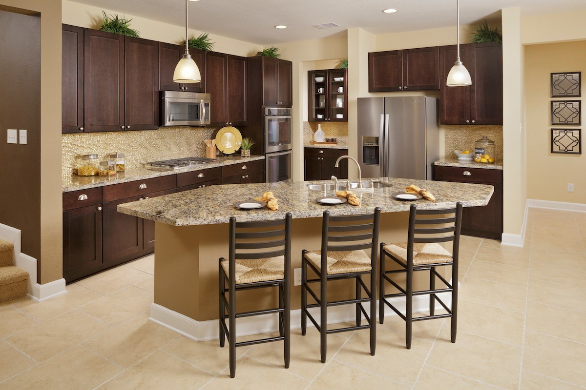 New Homes in Magnolia, TX - Cimarron Creek Preserve Plan 2936 Kitchen