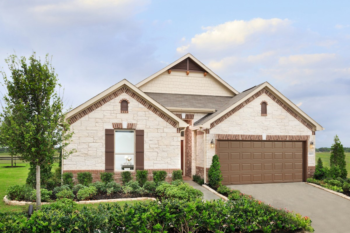 New Homes in Magnolia, TX - Cimarron Creek Preserve Plan 2314