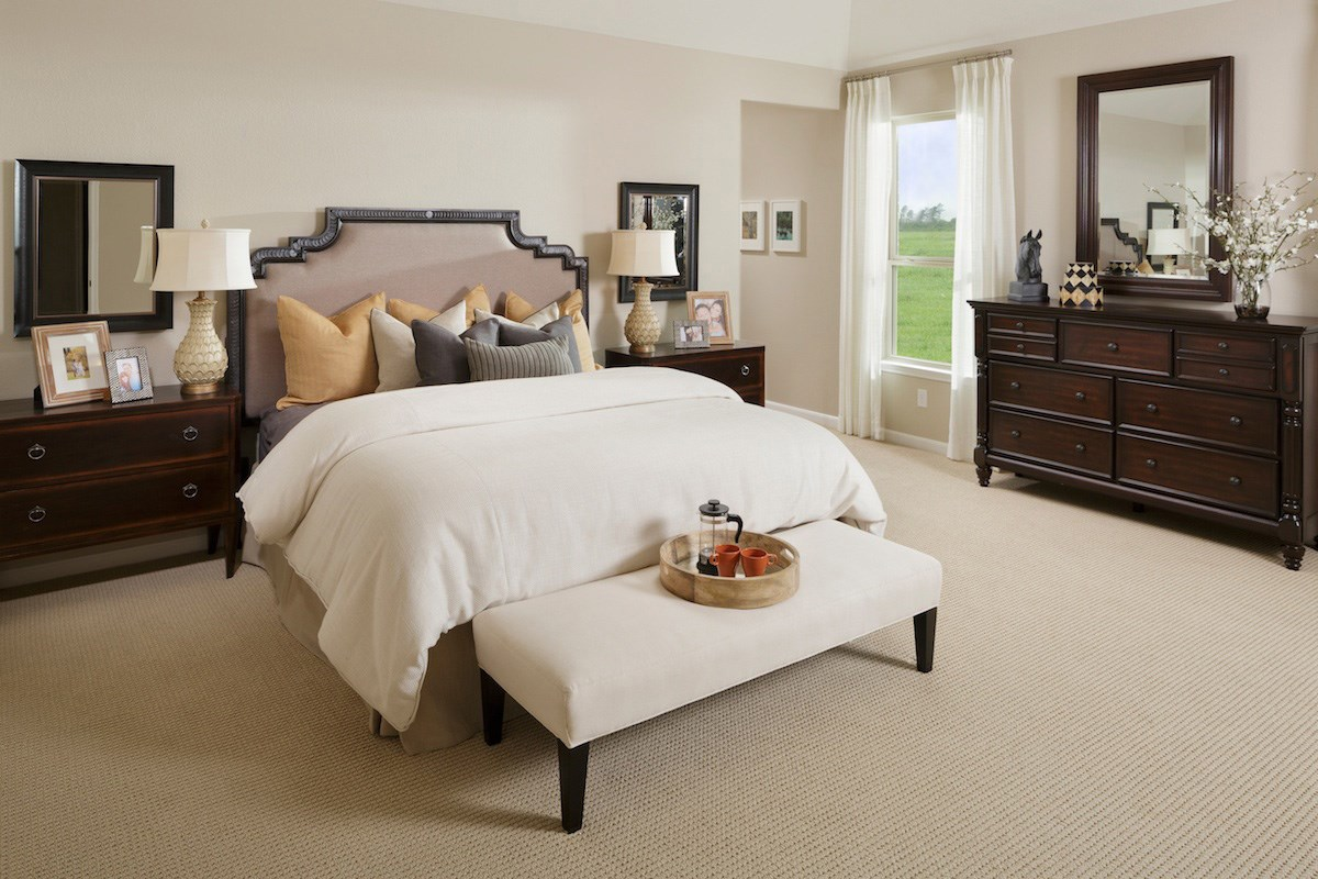 New Homes in Richmond, TX - Briscoe Falls Preserve Plan 2314 Master Bedroom