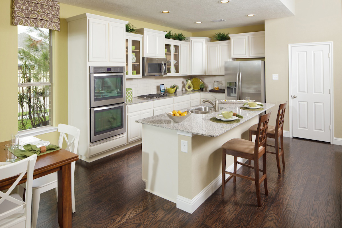 Canyon Lakes 3028 Kitchen Preset Xlarge New Homes For Sale In Pearland Tx Shadow Grove Preserve