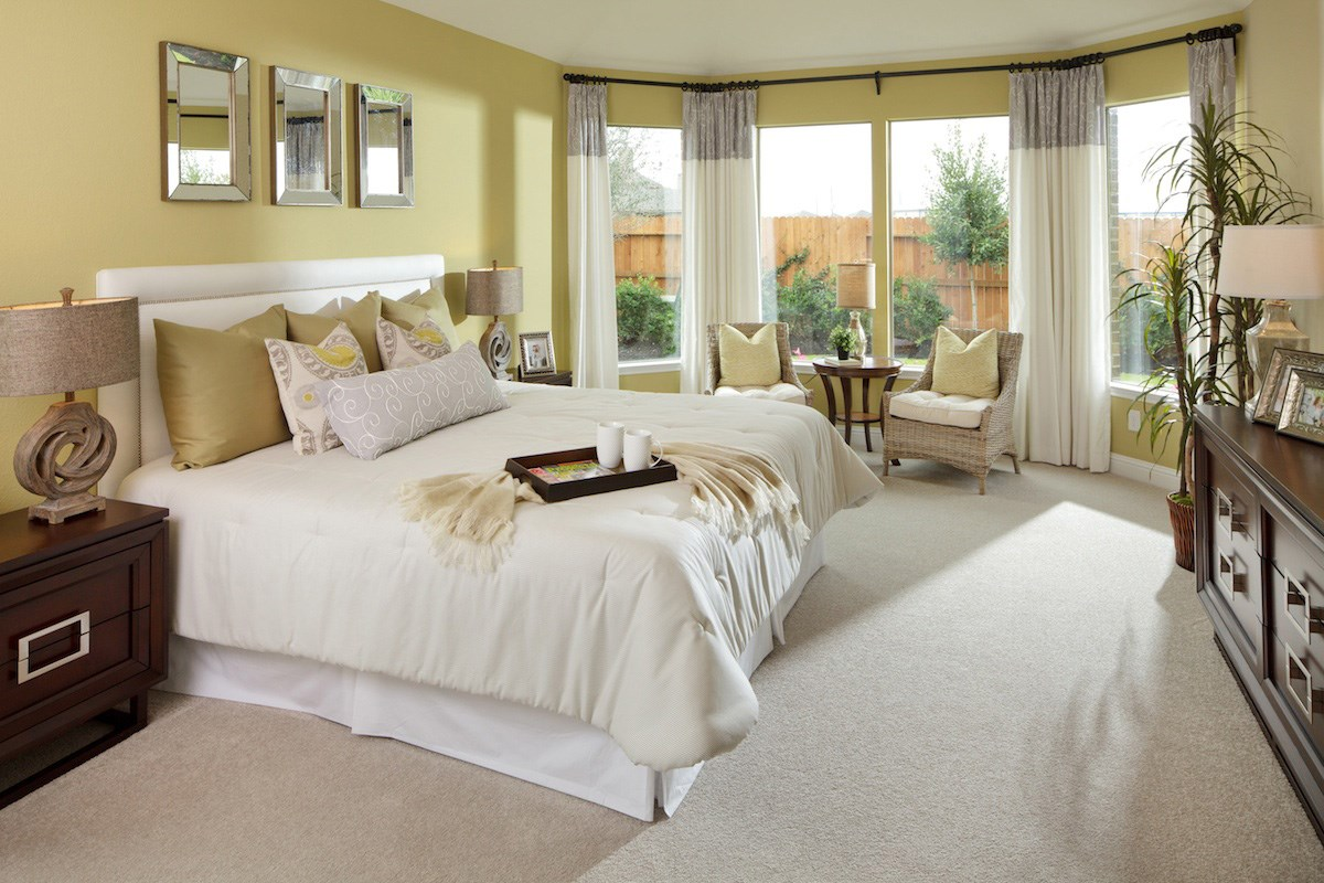New Homes in Conroe, TX - Wedgewood Falls Preserve 3028 Master Bedroom