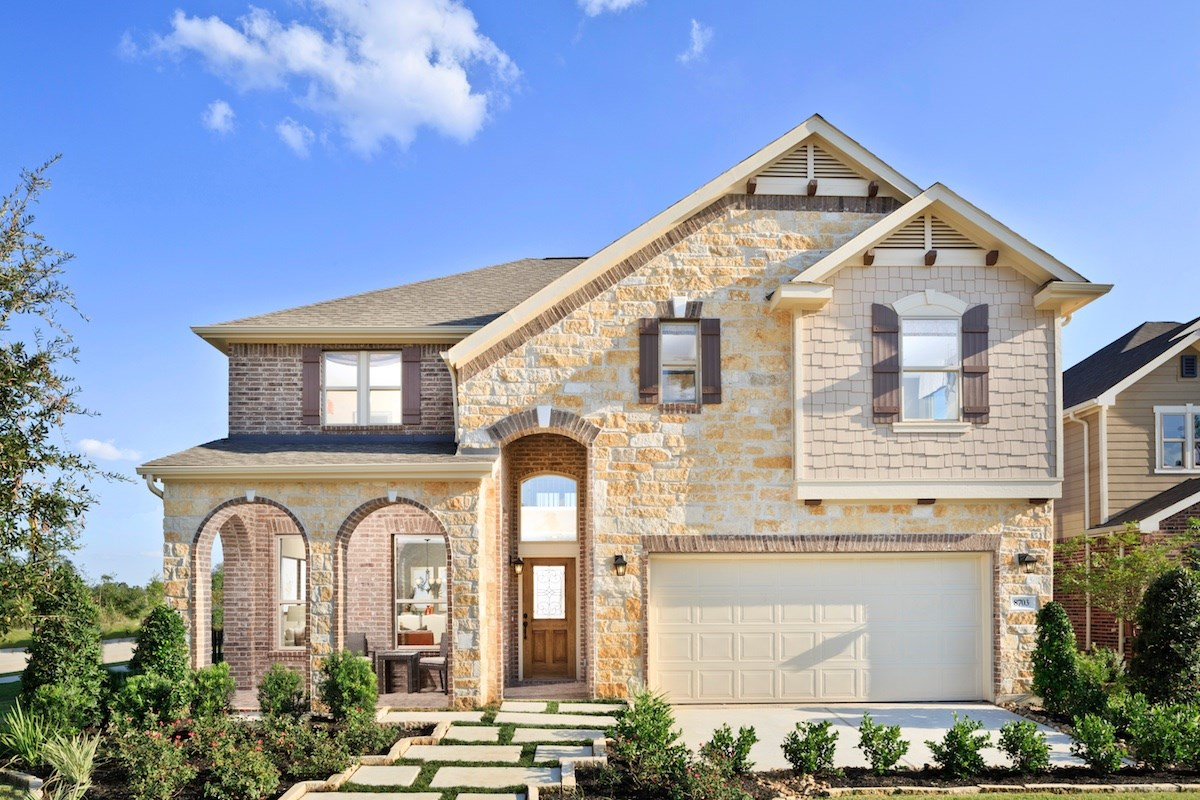New Homes in Magnolia, TX - Cimarron Creek Preserve Plan 3028
