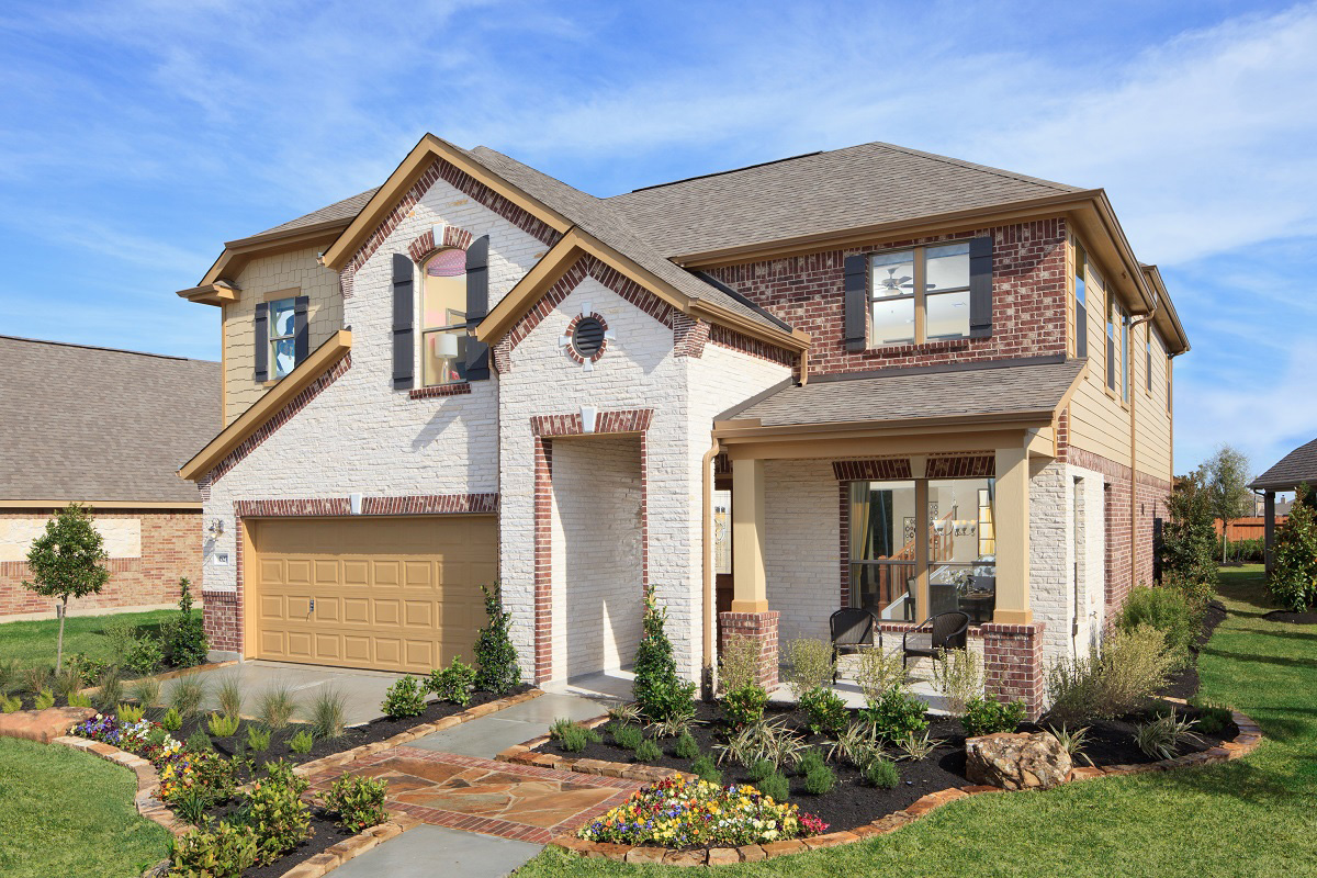 Wedgewood falls preserve community conroe tx kb home for House plans houston