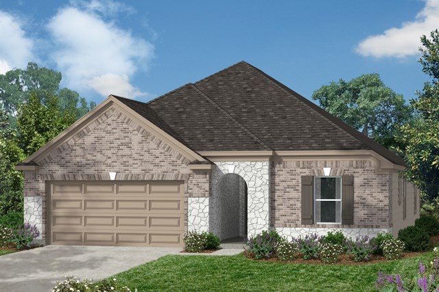 New Homes in Conroe, TX - Elevation D