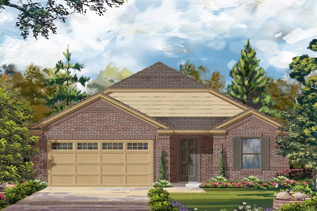 New Homes in La Marque, TX - Elevation C