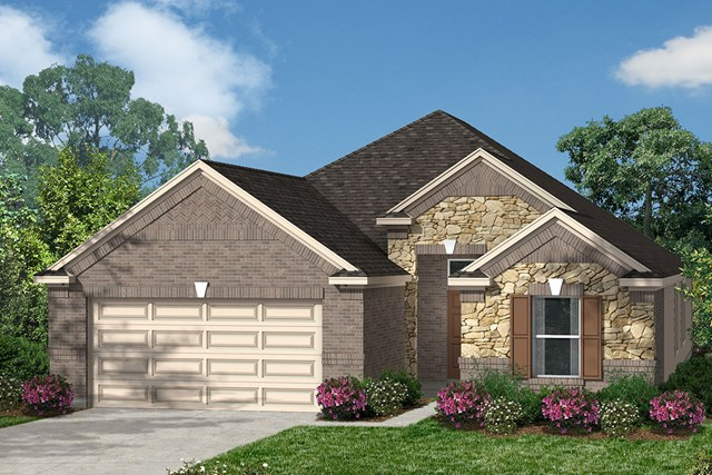 New Homes in Katy, TX - Elevation K