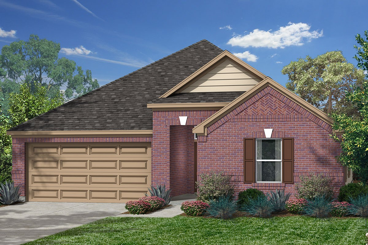 New Homes in Katy, TX - Katy Manor Preserve Paln 2314 - Elevation D