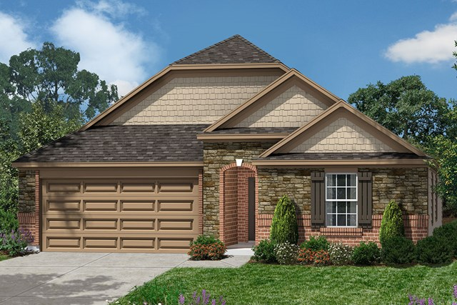 New Homes in Richmond, TX - Elevation K