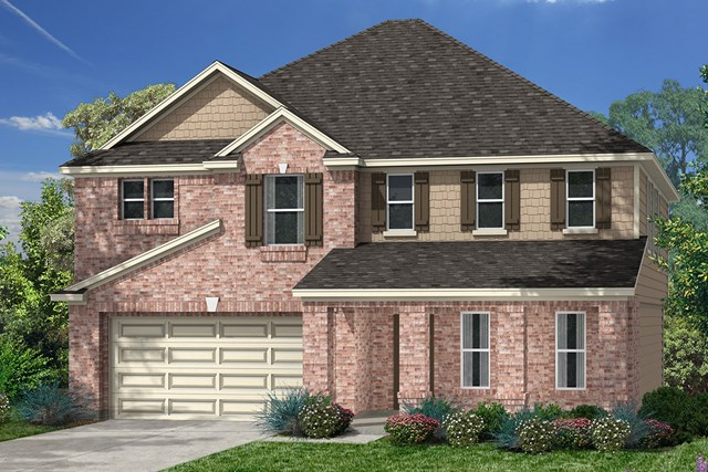 New Homes in Richmond, TX - Elevation E