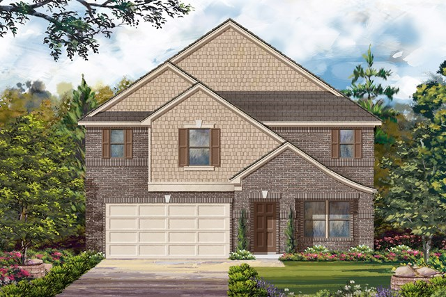 New Homes in Richmond, TX - Elevation F