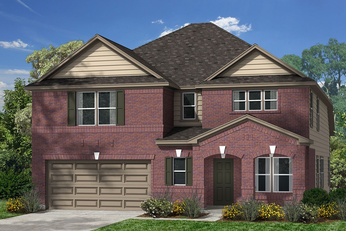 New Homes in Magnolia, TX - Cimarron Creek Preserve Plan 2590