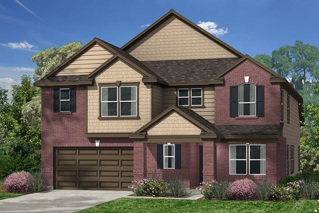 New Homes in Magnolia, TX - Elevation E