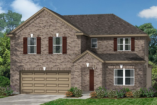 New Homes in Houston, TX - Elevation D
