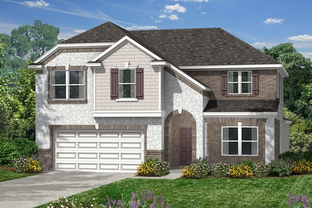 New Homes in Houston, TX - Elevation L