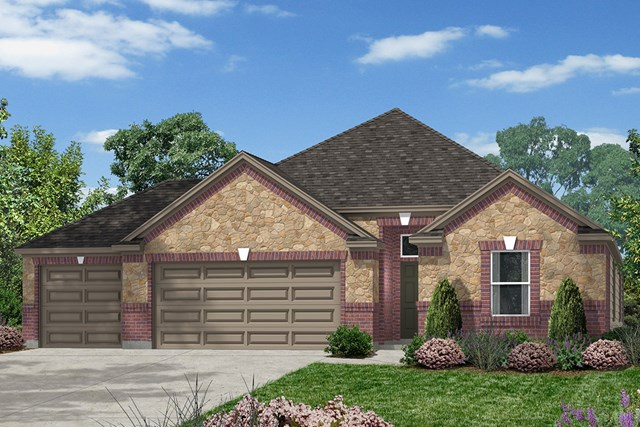 New Homes in Magnolia, TX - Elevation K