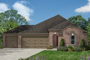 New Homes in Magnolia, TX - Plan 2398