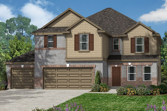 New Homes in Magnolia, TX - Elvevation D