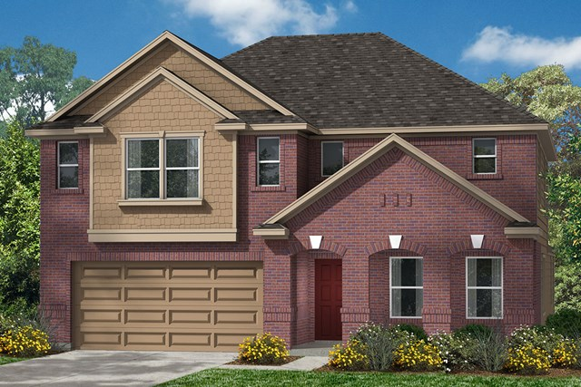 New Homes in Kingwood, TX - Elevation E