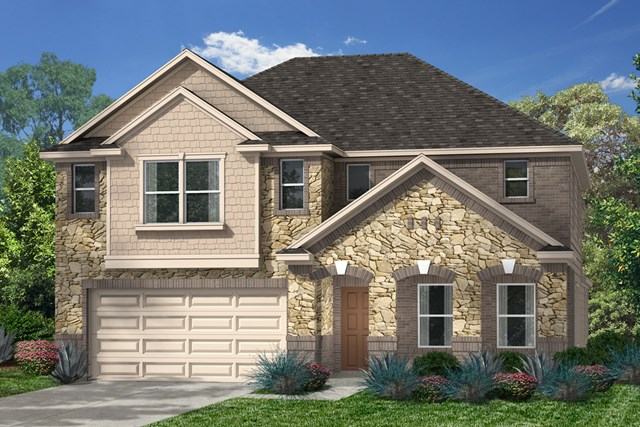 New Homes in Kingwood, TX - Elevation K