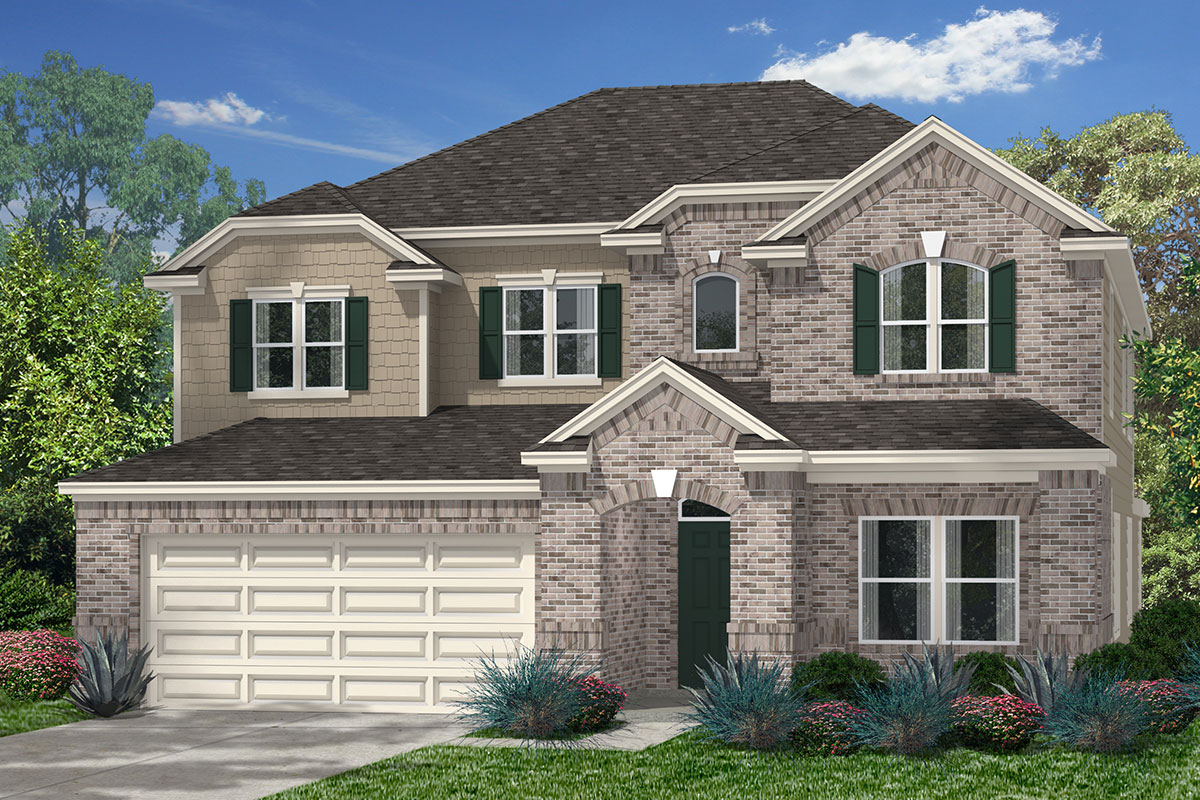 New Home Floor Plan In Katy Manor Preserve By