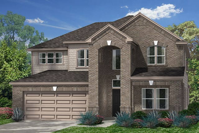 New Homes in Pearland, TX - Elevation F