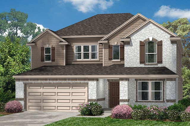 New Homes in Pearland, TX - Elevation K