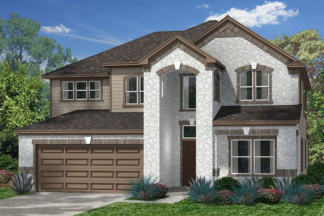 New Homes in Pearland, TX - Elevation L