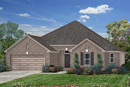 New Homes in Richmond, TX - Elevation A