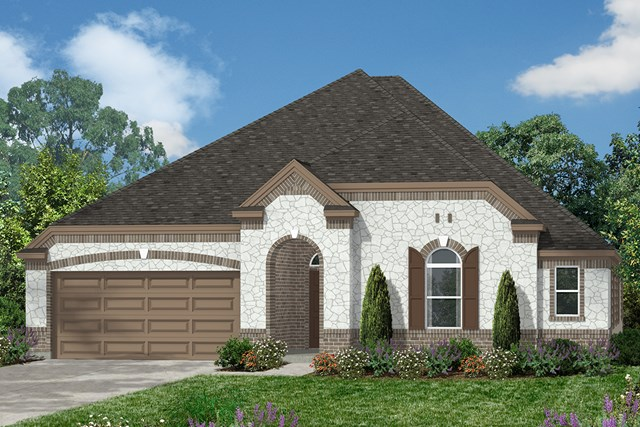 New Homes in Magnolia, TX - Elevation C