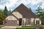 New KB Home quick-move-in homes available at Katy Oaks Estates in Katy, TX. Katy Oaks Estates - Lot 46-2-1 is one of many quick-move-in homes to choose from.