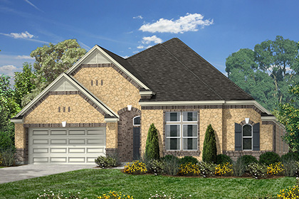 Plan 3005 at briscoe falls estates in richmond tx kb home for Houston house elevation