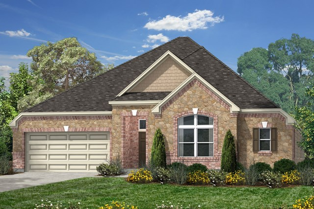 New Homes in Magnolia, TX - Elevation D