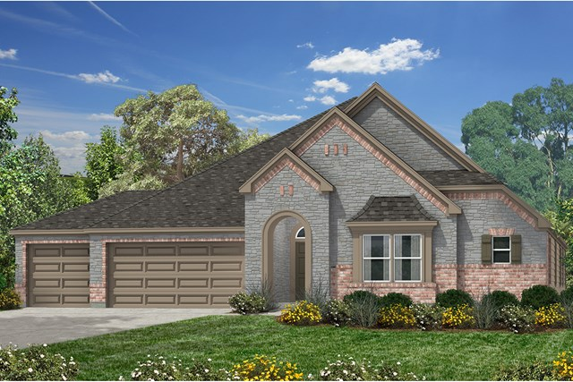 New Homes in Houston, TX - Elevation J
