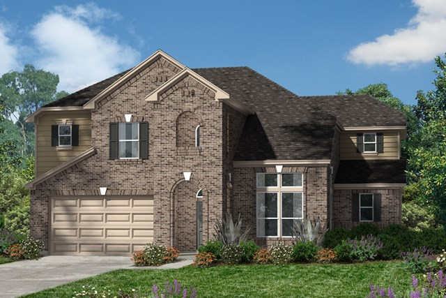 New Homes in Magnolia, TX - Elevation B