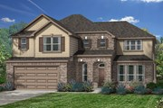 New Homes in Magnolia, TX - Plan 3444 Modeled