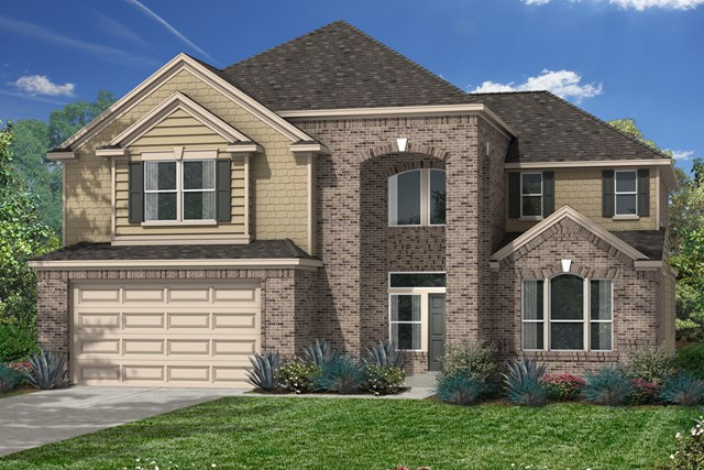 New Homes in Katy, TX - Elevation B