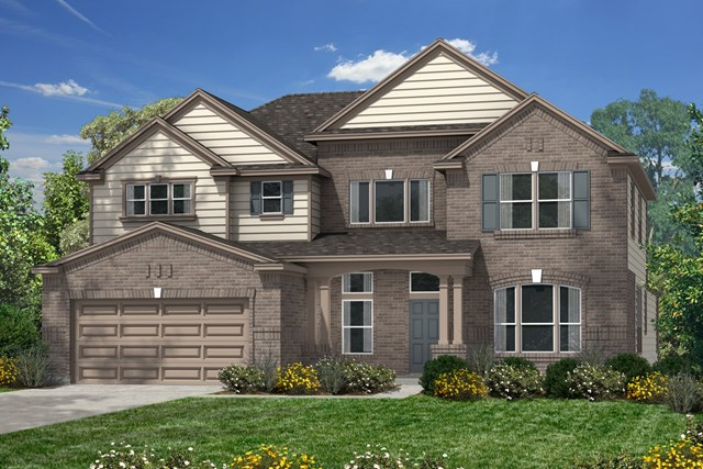 New Homes in Pearland, TX - Elevation A