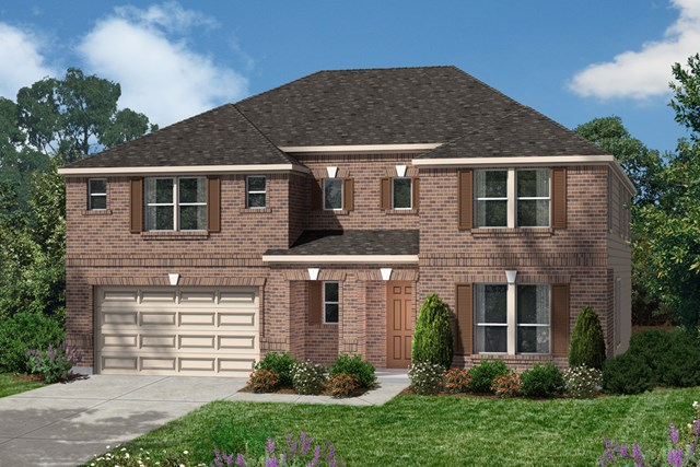 New Homes in Houston, TX - Elevation A