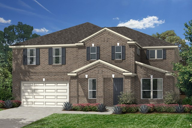 New Homes in Katy, TX - Elevation A