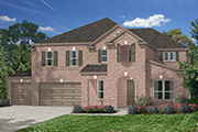New KB Home built-to-order homes available at Lakewood Pines Estates - Lakefront in Kingwood, TX. Plan 4811 is one of many floor plans to choose from.