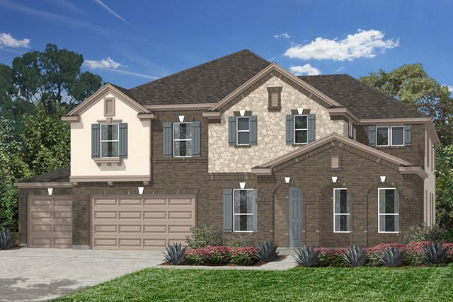 New Homes in Houston, TX - Elevation C