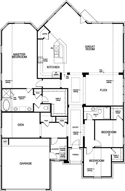 Kb home floor plans houston house design plans for Houston home builders floor plans