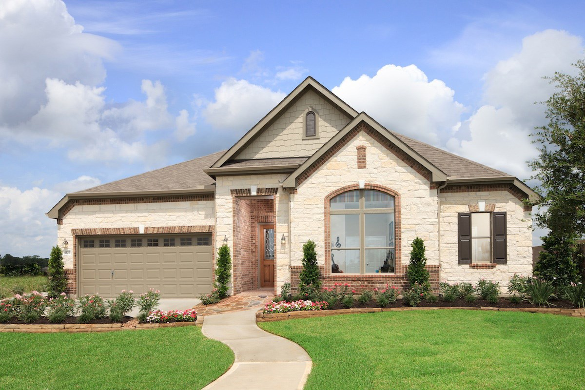 New Homes in Pearland, TX - Shadow Grove Estates Plan 3005