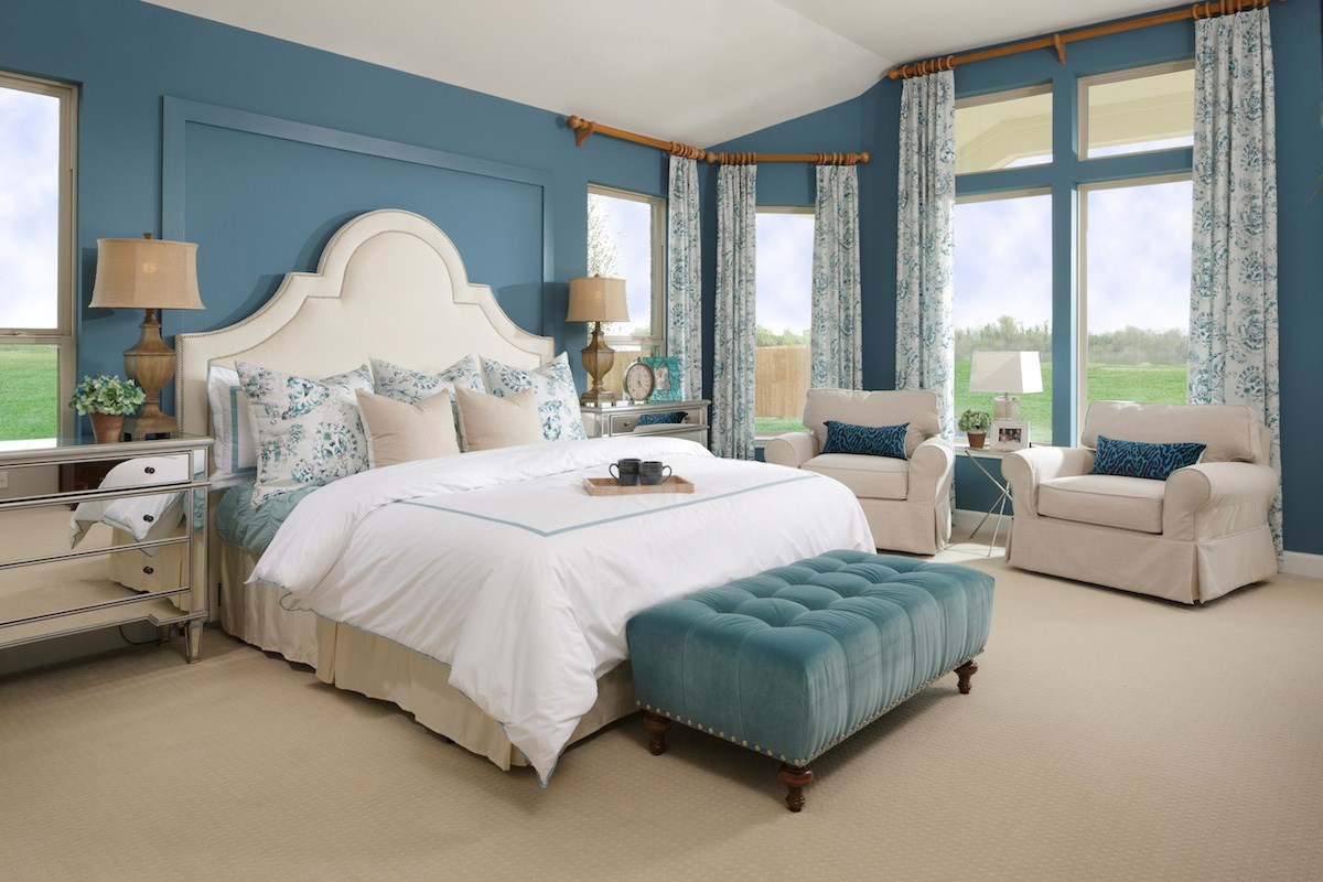 New Homes in Pearland, TX - Shadow Grove Estates 3005 Master Bedroom