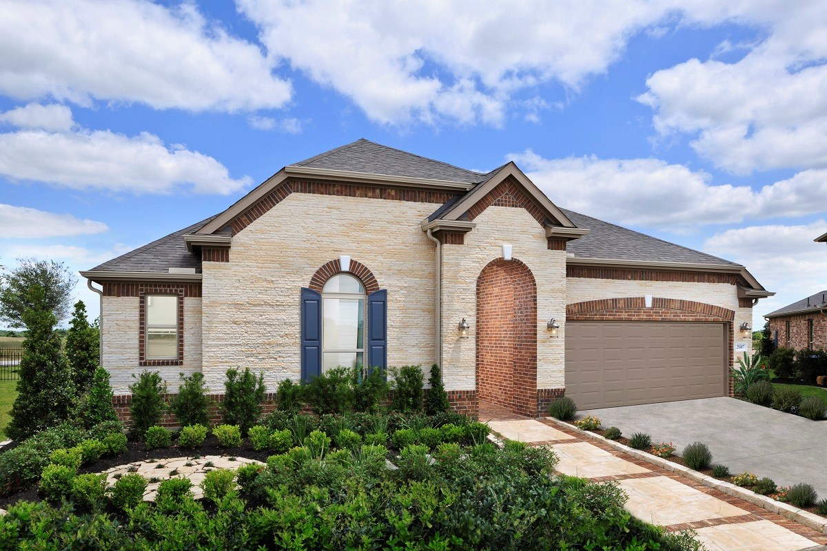 New Homes in Katy, TX - Anserra Estates Plan 2858 as modeled at Briscoe Falls