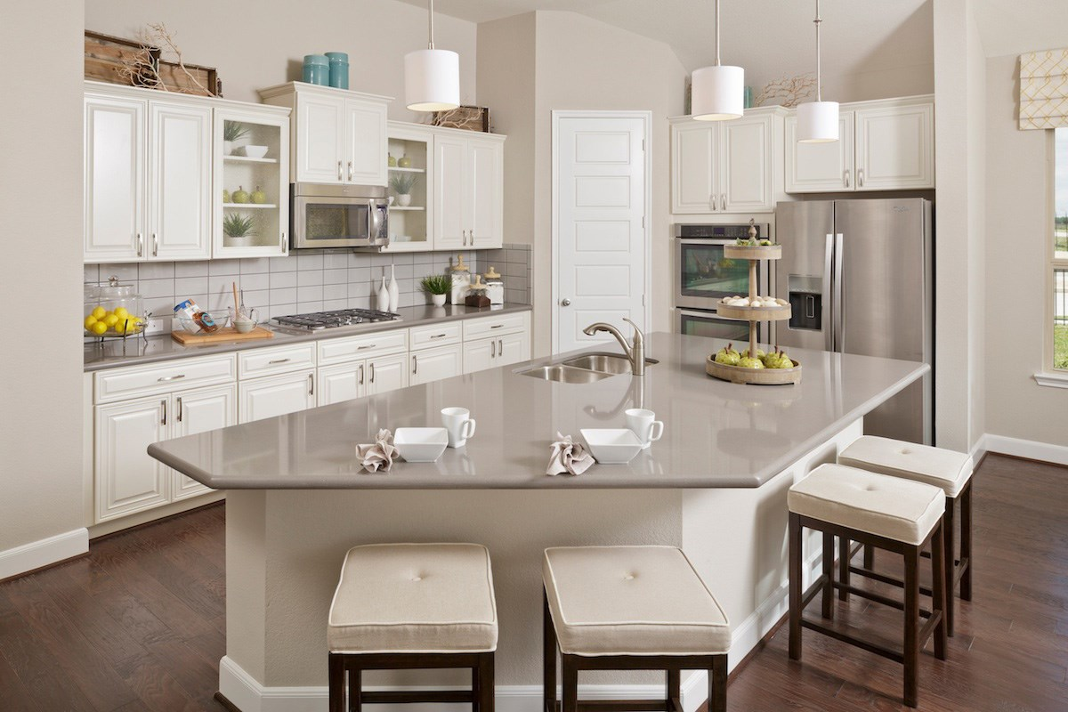 New Homes in Katy, TX - Anserra Estates Plan 2858 Kitchen